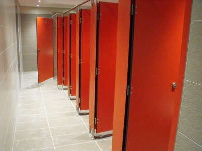Cubicle Solutions - Toilet Cubicles at Dube Trade Port