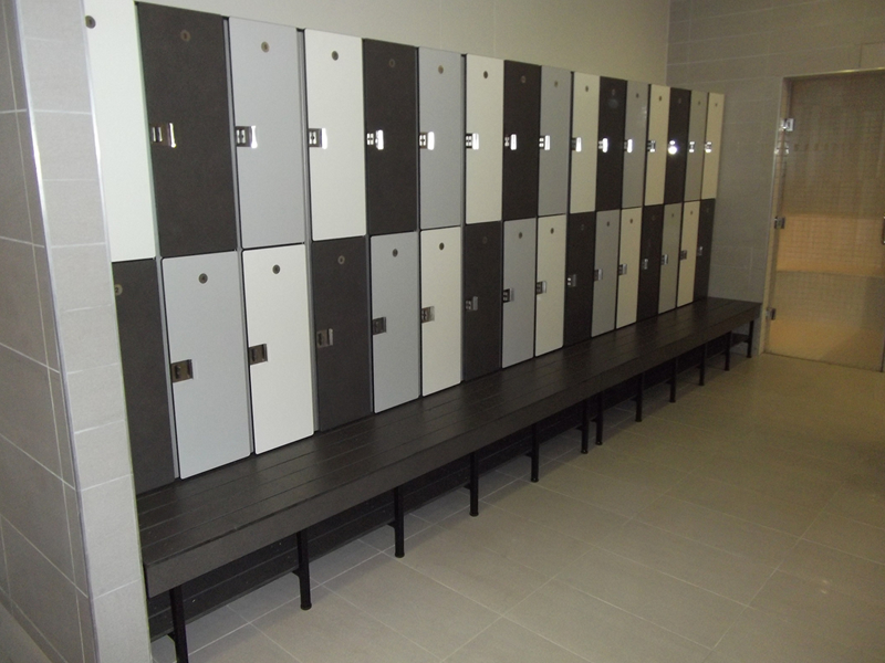 locker bench combined - cubicle solutions